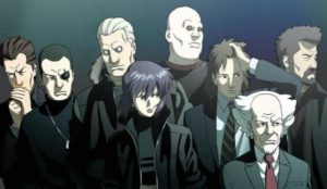 Kusanagi en haar team