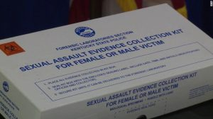 Rape kit, via CNN.com