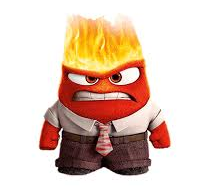 Anger, uit Disney's tekenfilm Inside Out
