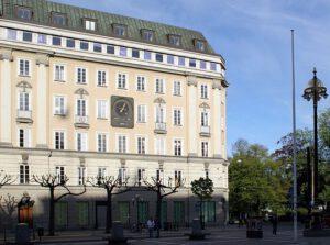 """Het gebouw waar het originele """"Stockholm syndroom"""" plaats vond"""